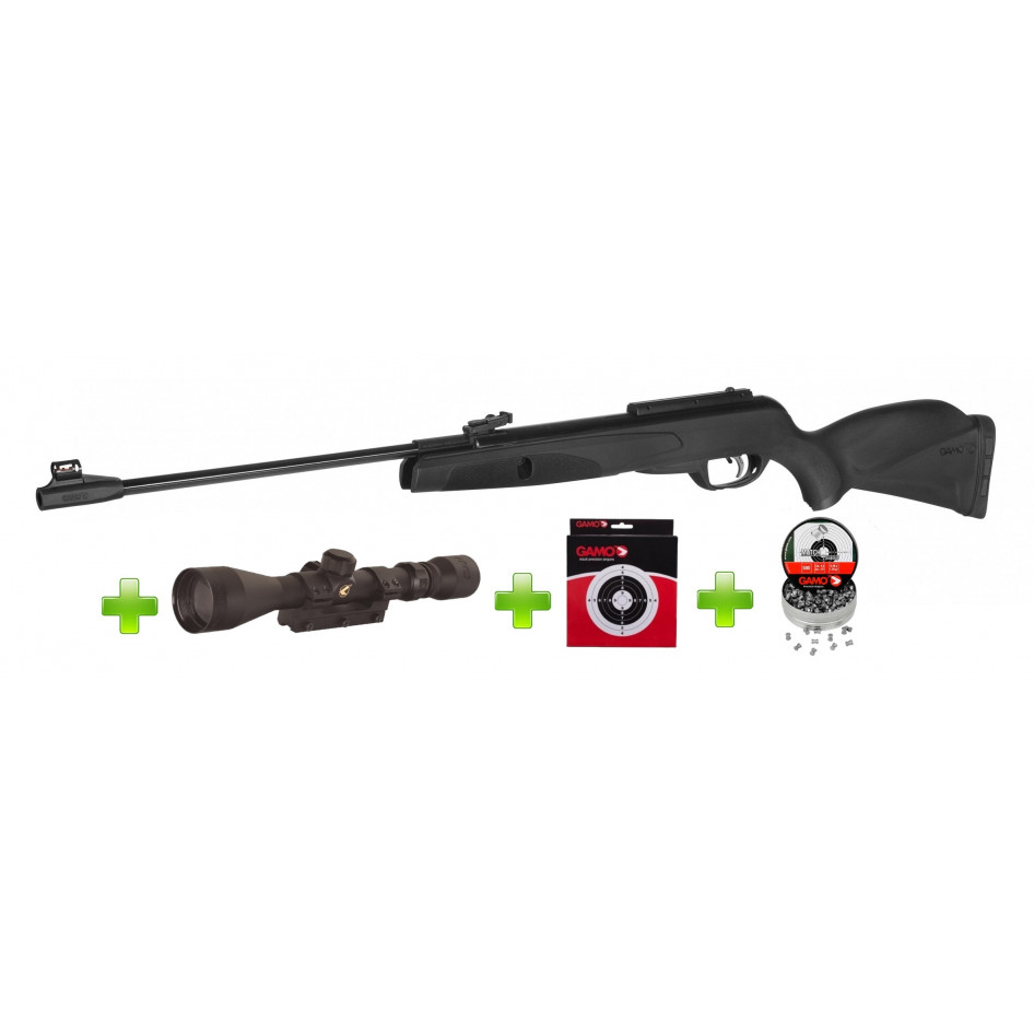 Gamo Black Knight 4 5mm Air Rifle Pack