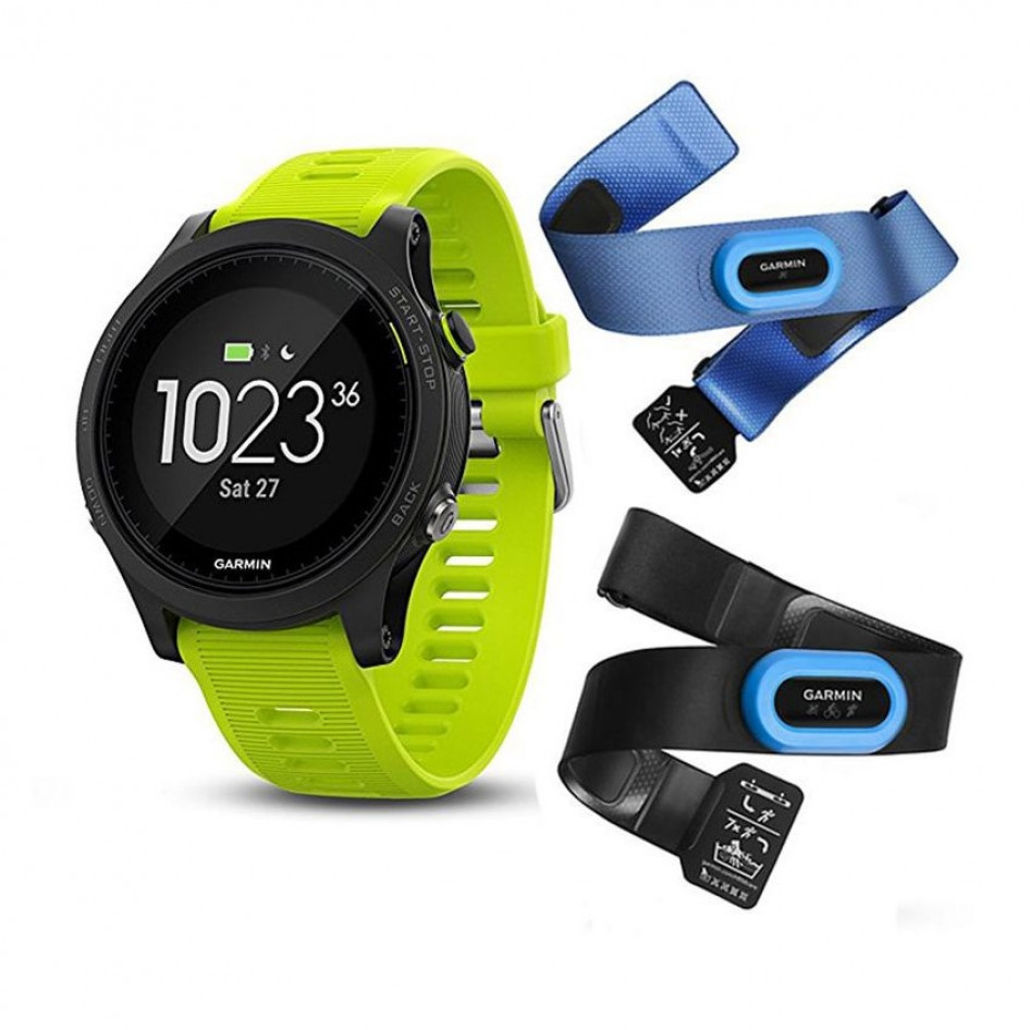4f544e2f2 Garmin Forerunner 935 GPS Fitness Watch - Force Yellow Tri-Bundle ...