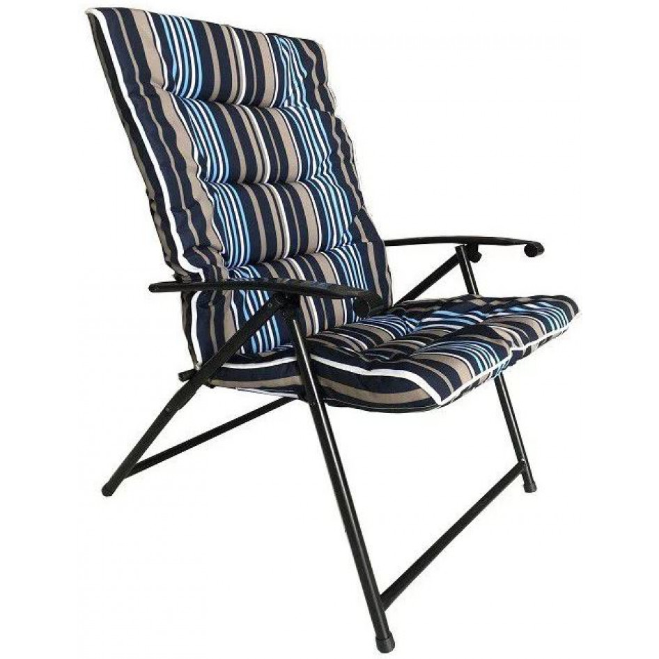 Seagull Padded Folding Chair Striped