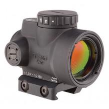Trijicon 1x25 MRO 2.0 MOA Adjustable Red Dot Sight - w/Low Mount