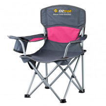 Oztrail Deluxe Junior Chair - Pink