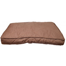 Rosewood 40 Winks Tweed Pet Mattress - Small, Chocolate