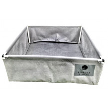 Forest Roots Fabric Raised Bed Planter - 1 x 1 x 0.4 m, 300L