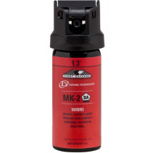 Defense Technology First Defense MK-2 Stream Pepper Spray - 1.3%, Red, 1oz