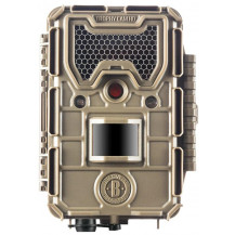 Bushnell Trophy HD Aggressor Low Glow Trail Camera - Tan, 20MP - Front