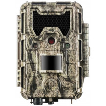 Bushnell Trophy HD Aggressor No Glow Trail Camera - Camo, 24MP - Front