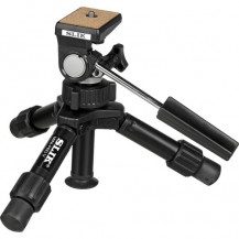 Slik Mini-Pro V Tripod with 2-Way Pan/Tilt Head