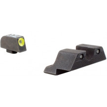 Trijicon GL101Y HD Night Sight Set (Yellow Front Outline, for Glock Pistols)