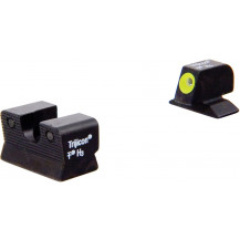 Trijicon BE112Y Beretta 90-TWO HD Night Sight Set (Yellow Front Outline)