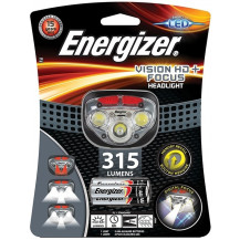 Energizer Vision HD+ Headlamp & Batteries - 315 Lumens