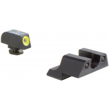 Trijicon GL113-C-600784 HD Night Sight Set (Yellow Front Outline, for Glock Pistols)