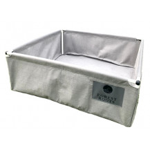 Forest Roots Fabric Raised Bed Planter - 1.4 x 1.4 x 0.4m, 580L