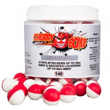 Cherry Bomb .68cal Mil - Spec PAVA Rounds - Jar of 140