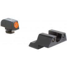 Trijicon GL113-C-600785 HD Night Sight Set (Orange Front Outline, for Glock Pistols)