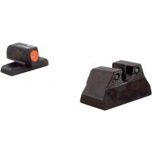 Trijicon HK108O H&K USP Compact HD Night Sight Set (Orange Front Outline)