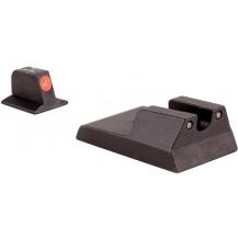 Trijicon RA114O Ruger SR9, SR40, SR40c HD Night Sight Set (Orange Front Outline)