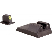 Trijicon RA115Y Ruger SR9c HD Night Sight Set (Yellow Front Outline)