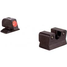 Trijicon BE113O Beretta 92/96A1 HD Night Sight Set (Orange Front Outline)