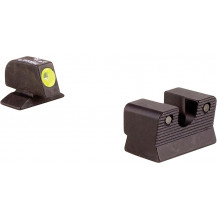 Trijicon BE113Y Beretta 92/96A1 HD Night Sight Set (Yellow Front Outline)
