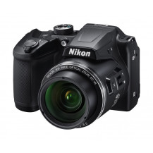Nikon Coolpix B500 Camera (Black) + Camera Bag + 16GB SD Card
