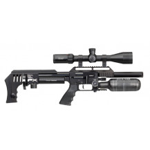 FX Airguns Impact MKII Compact Air Rifle - 5.5mm, Black - Scope NOT included.