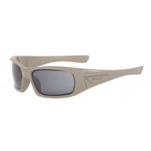 ESS 5B High Impact Sunglasses - Terrain Tan Frame, Smoke Grey Lenses