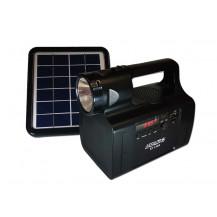 Everlotus S2-1366BT Home Solar Lighting System - Bluetooth, Black