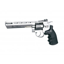 "ASG Dan Wesson 6"" Silver Airpistol 4.5mm"