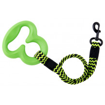 L'Chic Octobungee Elastic Pet Leash - Green