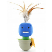 L'Chic Ca-Tumbler Cat Toy - Smile Face