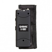 Sabre 3 800 000 VOLT Stun-Gun with flashlight - Rechargeable (Black)