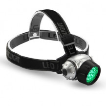 Dark Cycle LED Plant Inspection Headlamp - Green