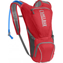 Camelbak Rogue 2.5L Hydration Pack (Racing Red/Silver)