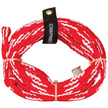 O'Brien 6-Person Tube Rope - Red