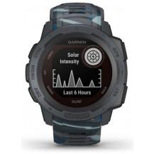 Garmin Instinct Solar Surf Smartwatch - Pipeline Linear
