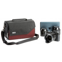 Think Tank 25i Mirrorless Mover Shoulder Bag - Deep Red front view - Camera Equipment NOT Included