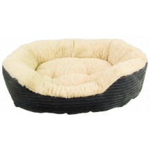 Rosewood 40 Winks Jumbo Cord/Plush Pet Bed - Small