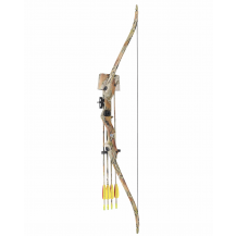 Man Kung 20LBS Youth Recurve Bow - Autumn Camo