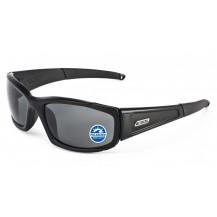 ESS 5B High Impact Sunglasses - Black Frame, Polarized Mirrored Grey Lenses
