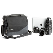 Think Tank Mirrorless Mover 30i Shoulder Bag - Pewter Grey front view - Camera Equipment NOT Included