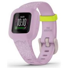 Garmin Vivofit Junior 3 Fitness Tracker - Lilac Floral