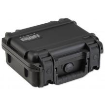SKB iSeries 1209-4 Pistol Case with Cubed Foam - Black