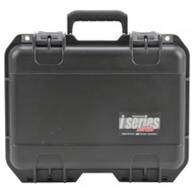 SKB iSeries 1309-6 Pistol Case with Cubed Foam - Black