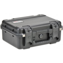 SKB iSeries 1510-6 Pistol Case with Cubed Foam - Black