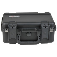 SKB iSeries 1510-6 Pistol Case with Layered Foam - Black
