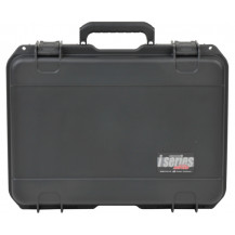 SKB I-Series 1813-5 Mil-Spec Pistol Case with Layered Foam - Black