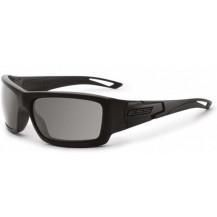 ESS Credence Ballistic Sunglasses - Black Frame, Smoke Grey Lenses, Subdued Logo