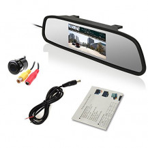 "Top CCTV 4.3"" TFT LCD Clip-on Mirror Screen"