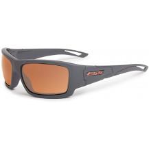 ESS Credence Ballistic Sunglasses - Grey Frame, Mirrored Copper Lenses