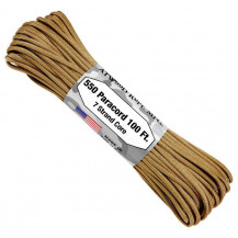 Atwood 550 Paracord 100ft 7 Strand Core - Tan